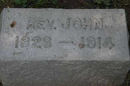 HOLWAY, REV. JOHN - Lorain County, Ohio | REV. JOHN HOLWAY - Ohio Gravestone Photos
