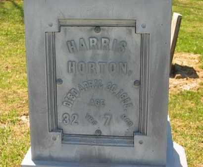 HORTON, HARRIS - Lorain County, Ohio | HARRIS HORTON - Ohio Gravestone Photos