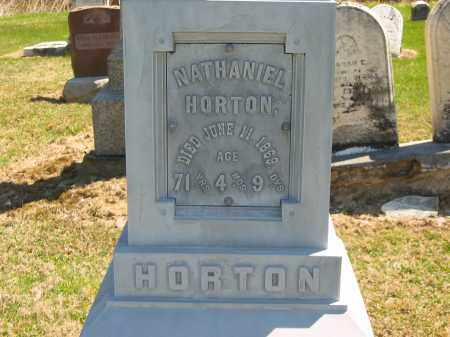 HORTON, NATHANIEL - Lorain County, Ohio | NATHANIEL HORTON - Ohio Gravestone Photos