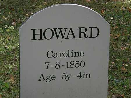 HOWARD, CAROLINE - Lorain County, Ohio | CAROLINE HOWARD - Ohio Gravestone Photos