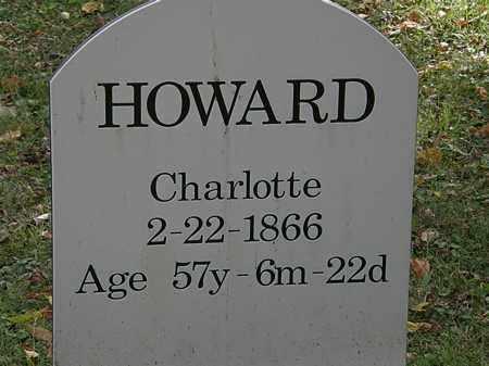 HOWARD, CHARLOTTE - Lorain County, Ohio   CHARLOTTE HOWARD - Ohio Gravestone Photos