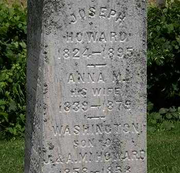 HOWARD, JOSEPH - Lorain County, Ohio | JOSEPH HOWARD - Ohio Gravestone Photos