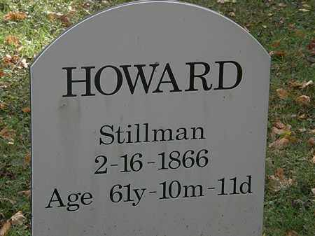 HOWARD, STILLMAN - Lorain County, Ohio | STILLMAN HOWARD - Ohio Gravestone Photos