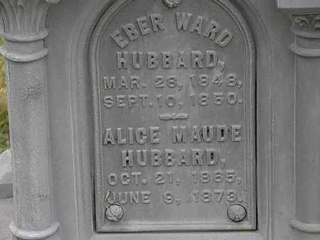 HUBBARD, ALICE MAUDE - Lorain County, Ohio | ALICE MAUDE HUBBARD - Ohio Gravestone Photos