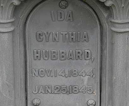 HUBBARD, IDA CYNTHIA - Lorain County, Ohio | IDA CYNTHIA HUBBARD - Ohio Gravestone Photos