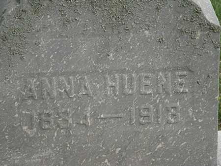 HUENE, ANNA - Lorain County, Ohio | ANNA HUENE - Ohio Gravestone Photos