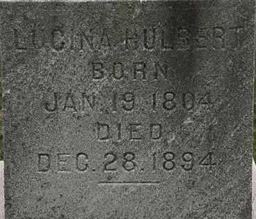 HULBERT, LUCINDA - Lorain County, Ohio | LUCINDA HULBERT - Ohio Gravestone Photos