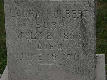 HULBERT, LAURA - Lorain County, Ohio | LAURA HULBERT - Ohio Gravestone Photos