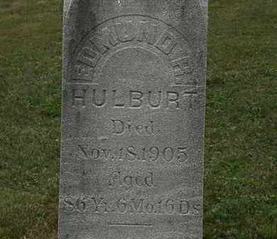 HULBURT, EDMUND - Lorain County, Ohio | EDMUND HULBURT - Ohio Gravestone Photos