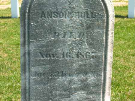 HULL, ANSON - Lorain County, Ohio | ANSON HULL - Ohio Gravestone Photos