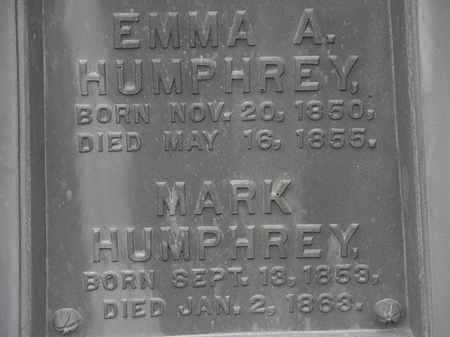HUMPHREY, EMMA A. - Lorain County, Ohio | EMMA A. HUMPHREY - Ohio Gravestone Photos