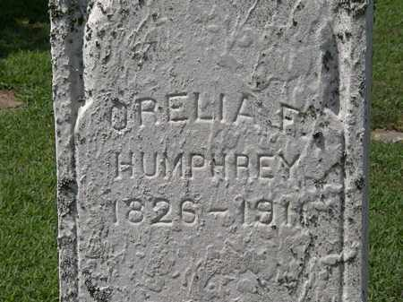 HUMPHREY, ORELIA F. - Lorain County, Ohio | ORELIA F. HUMPHREY - Ohio Gravestone Photos