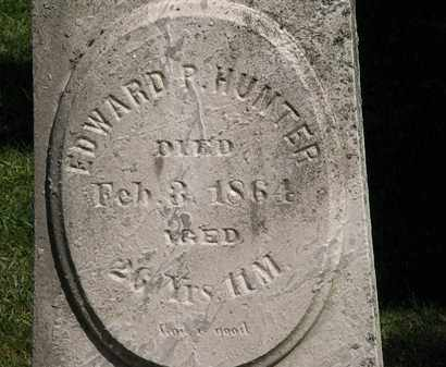 HUNTER, EDWARD P. - Lorain County, Ohio | EDWARD P. HUNTER - Ohio Gravestone Photos