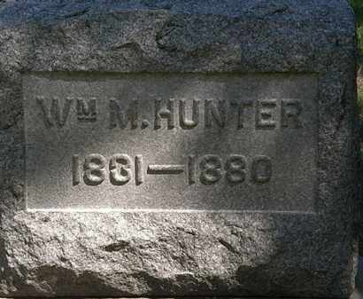 HUNTER, WM. M. - Lorain County, Ohio | WM. M. HUNTER - Ohio Gravestone Photos