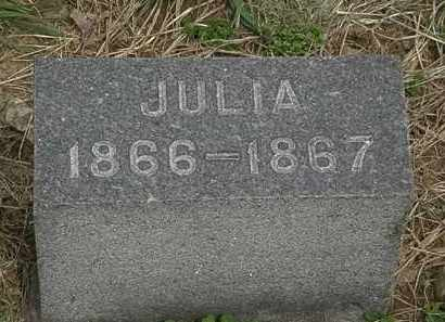 HURLBUT, JULIA - Lorain County, Ohio | JULIA HURLBUT - Ohio Gravestone Photos