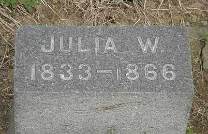 HURLBUT, JULIA W. - Lorain County, Ohio | JULIA W. HURLBUT - Ohio Gravestone Photos