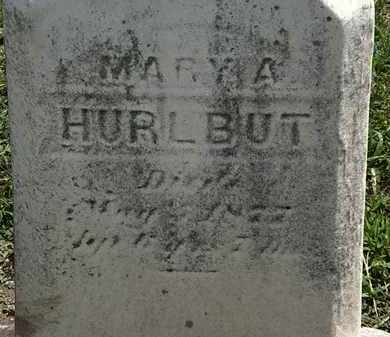 HURLBUT, MARY A. - Lorain County, Ohio | MARY A. HURLBUT - Ohio Gravestone Photos