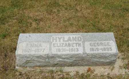 HYLAND, GEORGE - Lorain County, Ohio | GEORGE HYLAND - Ohio Gravestone Photos