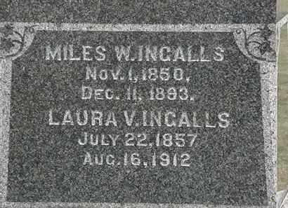 INGALLS, MILES W. - Lorain County, Ohio | MILES W. INGALLS - Ohio Gravestone Photos