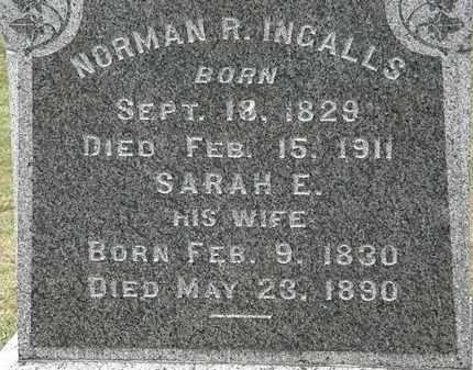 INGALLS, NORMAN R. - Lorain County, Ohio | NORMAN R. INGALLS - Ohio Gravestone Photos