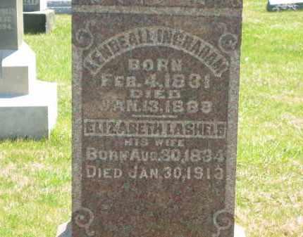 LASHELS INGRAHAM, ELIZABETH - Lorain County, Ohio | ELIZABETH LASHELS INGRAHAM - Ohio Gravestone Photos