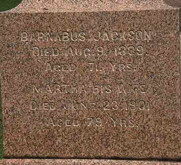 JACKSON, MARTHA - Lorain County, Ohio | MARTHA JACKSON - Ohio Gravestone Photos