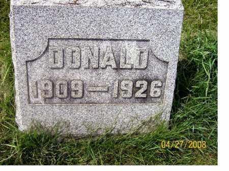 JACKSON, DONALD - Lorain County, Ohio | DONALD JACKSON - Ohio Gravestone Photos