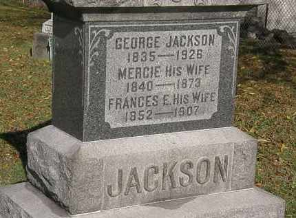 JACKSON, GEORGE - Lorain County, Ohio | GEORGE JACKSON - Ohio Gravestone Photos