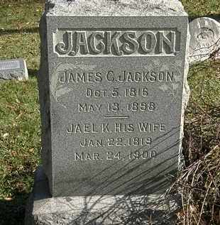 JACKSON, JAMES C. - Lorain County, Ohio | JAMES C. JACKSON - Ohio Gravestone Photos