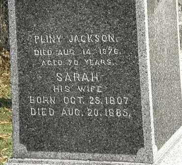 JACKSON, SARAH - Lorain County, Ohio | SARAH JACKSON - Ohio Gravestone Photos