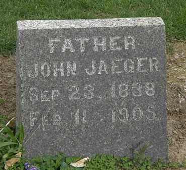 JAEGER, JOHN - Lorain County, Ohio | JOHN JAEGER - Ohio Gravestone Photos