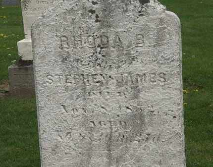 JAMES, RHODA B. - Lorain County, Ohio | RHODA B. JAMES - Ohio Gravestone Photos