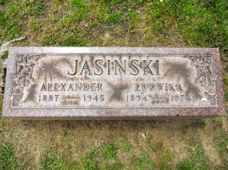 JASINSKI, ALEXANDER - Lorain County, Ohio | ALEXANDER JASINSKI - Ohio Gravestone Photos
