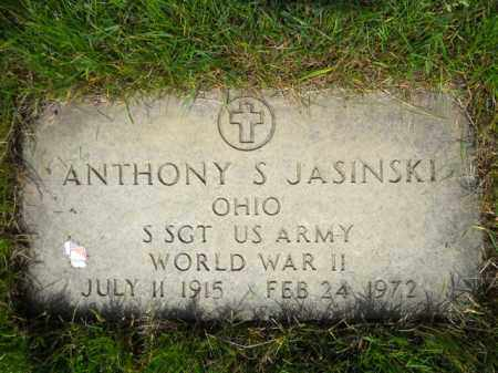 JASINSKI, ANTHONY S. - Lorain County, Ohio | ANTHONY S. JASINSKI - Ohio Gravestone Photos