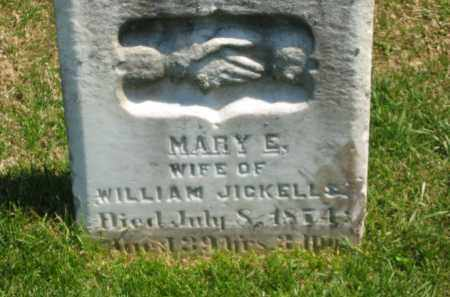 JICKELLS, MARY E. - Lorain County, Ohio | MARY E. JICKELLS - Ohio Gravestone Photos