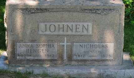 HENGEN JOHNEN, ANNA SOPHIA - Lorain County, Ohio | ANNA SOPHIA HENGEN JOHNEN - Ohio Gravestone Photos