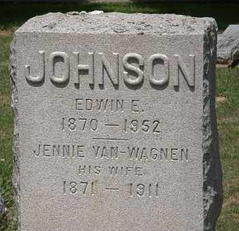 JOHNSON, EDWIN E. - Lorain County, Ohio | EDWIN E. JOHNSON - Ohio Gravestone Photos