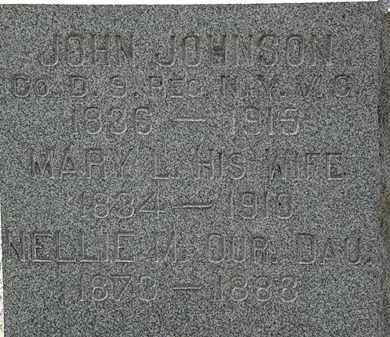 JOHNSON, MARY L. - Lorain County, Ohio | MARY L. JOHNSON - Ohio Gravestone Photos