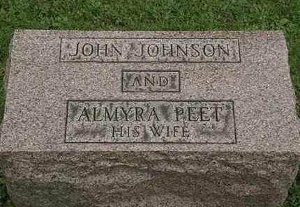 PEET JOHNSON, ALMYRA - Lorain County, Ohio | ALMYRA PEET JOHNSON - Ohio Gravestone Photos