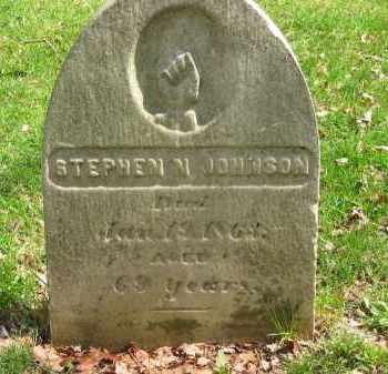 JOHNSON, STEPHEN N. - Lorain County, Ohio | STEPHEN N. JOHNSON - Ohio Gravestone Photos