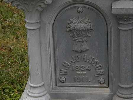 JOHNSON, W.H. - Lorain County, Ohio | W.H. JOHNSON - Ohio Gravestone Photos