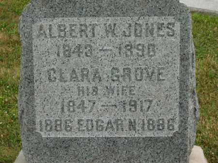 GROVE JONES, CLARA - Lorain County, Ohio | CLARA GROVE JONES - Ohio Gravestone Photos