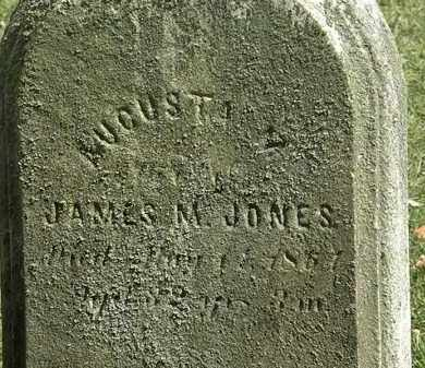 JONES, JAMES M. - Lorain County, Ohio | JAMES M. JONES - Ohio Gravestone Photos