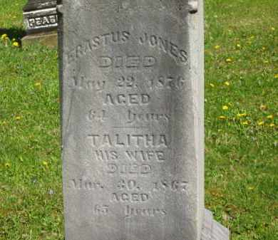 JONES, ERASTUS - Lorain County, Ohio | ERASTUS JONES - Ohio Gravestone Photos