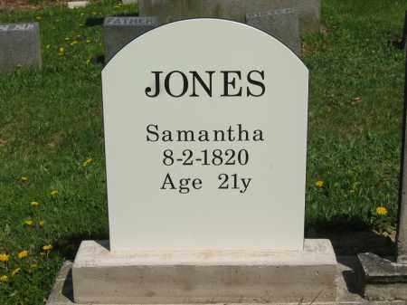 JONES, SAMANTHA - Lorain County, Ohio | SAMANTHA JONES - Ohio Gravestone Photos