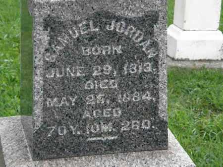 JORDAN, SAMUEL - Lorain County, Ohio | SAMUEL JORDAN - Ohio Gravestone Photos