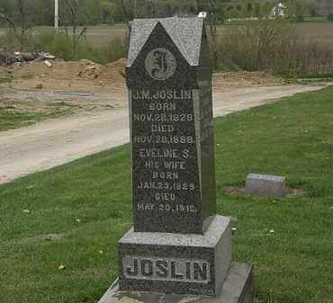 JOSLIN, EVELINE S. - Lorain County, Ohio | EVELINE S. JOSLIN - Ohio Gravestone Photos