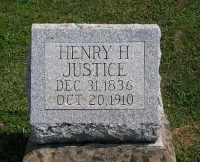 JUSTICE, HENRY H. - Lorain County, Ohio | HENRY H. JUSTICE - Ohio Gravestone Photos
