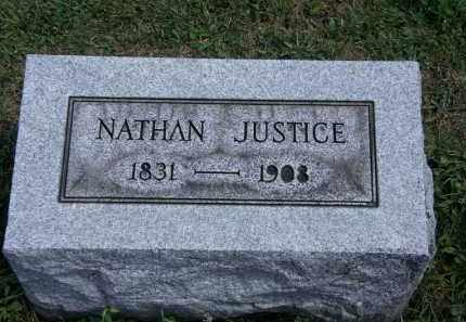JUSTICE, NATHAN - Lorain County, Ohio | NATHAN JUSTICE - Ohio Gravestone Photos