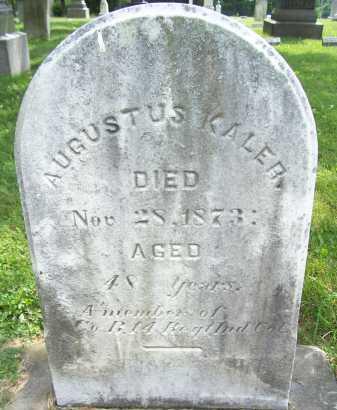 KALER, AUGUSTUS - Lorain County, Ohio | AUGUSTUS KALER - Ohio Gravestone Photos